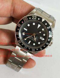 Relojes de lujo de estilo vintage online-3 Estilo BP fábrica última versión 1675 de la vendimia de lujo Relojes 40mm Dial Asia 2813 movimiento automático de alta calidad para hombre Relojes