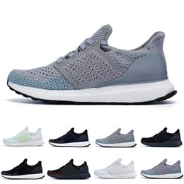 fd51d77e1ed 2018 Ultra Boots 4.0 4.5 Primeknit Runner Parley Ultraboots Running Shoes  Real Boosts Sports UB Green Mens Womens Trainers Sneakers 36-45