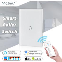 reisebegrenzte schalter Rabatt US WiFi Smart Boiler Schalter Wasserkocher Smart Life Tuya APP Fernbedienung Amazon Alexa Echo Google Home Sprachsteuerung Glasscheibe