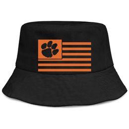 Bandeira do sol negro on-line-Clemson Tigres Bandeira homens negros pesca balde chapéu de sol fresco em branco personalizado único clássico balde suncap