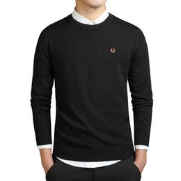 Вышивка рукав вязать свитер онлайн-Мужские толстовки с капюшоном куртки Новые модные мужские зимние свитера с вышивкой с длинным рукавом вязаный свитер Imported-одежда Плюс Размер 3XL