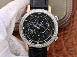 2020 orologi del diamante di ginevra del mens Ginevra orologio di lusso stella 9015 perla tuo top orologio meccanico, CNC scultura profonda 43mm orologi da uomo di lusso montre de luxe diamond watch orologi del diamante di ginevra del mens economici