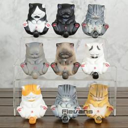 Poupée neko en Ligne-Kawaii Cat Bells Vol.3 Neko Figures de PVC Jouets Belle Chaton Chats Jouets Poupées Cadeaux 9pcs / ensemble