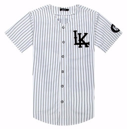 Tyga kleidung online-Kanye West New 07 Last Kings Baseball T-Shirt Jersey Trend Mode Hip Hop Männer Frauen Kleidung Tyga letzte Könige Kleidung