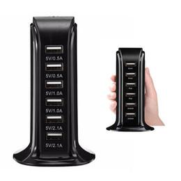 chargeur d'honneur huawei Promotion Chargeur USB multi 6 ports 30W avec chargeur 6A, concentrateur de bureau