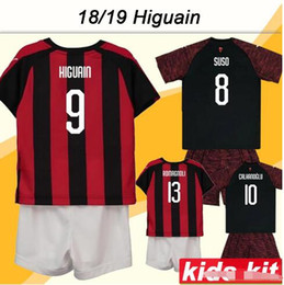 Wholesale Ac Milan Kids Jersey - Buy Cheap Ac Milan Kids