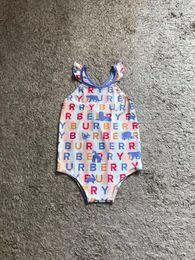 Trajes de banho grátis on-line-Frete grátis criança crianças bonito swimwear biquinis 2019 babados um pedaço maiôs maiôs esporte bebê meninas