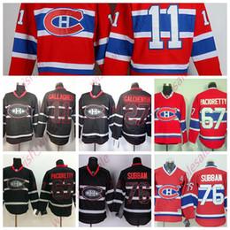 Недорогие канадские трикотажные изделия онлайн-Мужские дешевые трикотажные изделия Montreal Canadiens 11 Brendan Gallagher 76 PK Subban 67 Max Pacioretty Сшитые высококачественные хоккейные майки