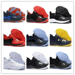 801f1aaa15b 2018 Best Sale ! Mens Paul George 2 PG II Basketball Shoes For Cheap Top  PG2 2S Starry Many Colors Sports Free Shipping Size 40-46