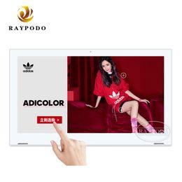 2019 tableta china teléfono sim Raypodo capacitiva IPS LCD de pantalla táctil androide RJ45 POE tableta para restaurante y de negocios usando