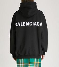 2019 meninas do boné do hoodie Moda Maré Ao Ar Livre Hoodies BLSJ Designer Lazer Jaqueta Inglês Nome Completo Voltar Impressão Cap Pullover Guarda Para Meninos Meninas # 552 desconto meninas do boné do hoodie