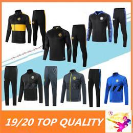 2019 2020 INTER Lukaku FUTEBOL fato de treino 19 20 ICARDI LAUTARO Nainggolan Perisic chandal maillot jaqueta de futebol treino de