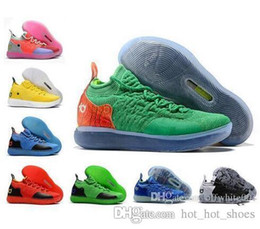 c4533fa22b7 2018 New arrival KD 11 mens basketball shoes Paranoid Still KD men trainers Kevin  Durant 11s Athletic sports sneaker size 7-12