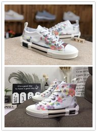 B23 Nuevo 2019 DIOR x Kaws Oblicuo lowTop Sneakers Sneakers de hombre Skateboarding Casual Shoes Mujer Skate Shoes Womens Casual Boots Tamaño 36-45 desde fabricantes