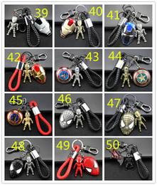 llavero del moto Rebajas 98 estilos Avengers Llavero de Metal Coche Colgante Regalo Creativo Llavero de coche Hombre Wei Anime Ornamento Llavero Moto Llavero Para Acceso de Coche 190426