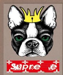 Tigher tête de chien tête l nouvelle mode Hot fix autocollant transfert de chaleur estampage à chaud vêtements sac de fer sur des correctifs imprimer des images de dessin animé grenouille ? partir de fabricateur
