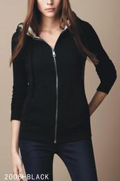 2019 женские свитера Роскошный классический бренд дамы с капюшоном свитер пальто мода плед хлопок теплая ветровка куртка высокого качества женская куртка