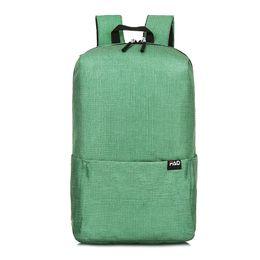 New Fashion Backpack For Men And Women Popular Solid Color Shoulder Bag 7  Colors School Bag College Style Fashion Backpack 6dede5ea7cb0b