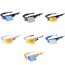 Envolver alrededor de marcos online-Gafas de sol de recubrimiento Diseñador de moda Pantallas casuales Gafas grandes Gafas deportivas Gafas de gafas de lujo Envolventes Gafas de sol deportivas 10PCS