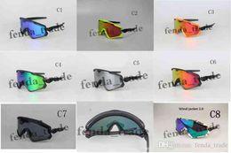 Marcas de óculos de neve on-line-2018 new WIND SNOW GOGGLE óculos de ciclismo óculos de sol de alta qualidade marca Designer óculos de sol unisex óculos de sol