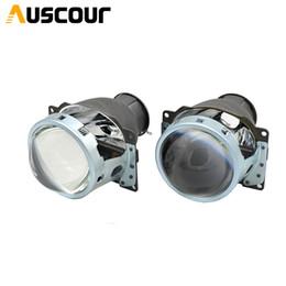 Держатели ксенона онлайн-3,0-дюймовый H7Q5 би-ксеноновый Hid-объектив проектора Фара лампа металлического держателя h7 Hid Xenon Kit автомобильный монтажный комплект