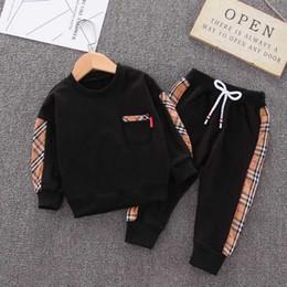 2019 batman cotton Boy Girl Clothes T-shirt Crianças Moda D1 Primavera Calças Baby 2pcs / Define criança Cotton Ternos Kids Clothing Set infantil dos desenhos animados Treino