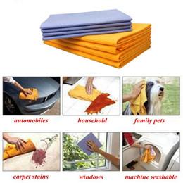Салфетка для чистки микрофибры онлайн-Ткань для чистки ткань для чистки микрофибры анти-смазка бамбуковое волокно ткань для посуды чистка автомобиля вытирая тряпки соскоб 8 в коробке бесплатная доставка