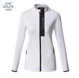 OCLUNK Lady Golf Jacket Outdoor Sports Zipper Clothing Long Sleeve Golf Coat Female Running/Tennis Windbreaker For Women от