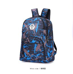 outdoor camp bag Coupons - Top outdoor camouflage travel backpack computer bag Oxford Brake chain middle school student bag Outdoor colors free shipping