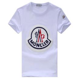 2019 dia crânios mortos atacado MT Nova moda casual Mon Marca T-shirt dos homens de verão T-shirt Britânico de manga curta T-shirt dos homens Hommes deslizamento