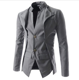 vêtement décontracté élégant pour hommes Promotion Nouvelle arrivée Casual Slim Fit élégant One Button Costume Hommes Blazer Manteau Vestes Homme Fashion Vêtements