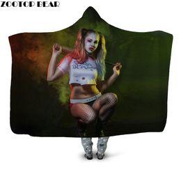 2020 cobertores frescos Cool Maiden Wearable Cobertor com Cobertura Sherpa Cobertor para Criança Adulto Fino Plush Throw Drop Ship cobertores frescos barato