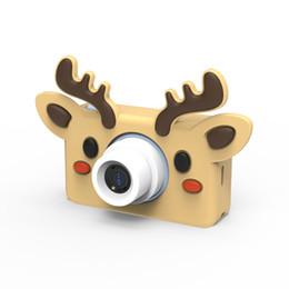 "3d volle hd kamera Rabatt 8.0MP HD Kids Mini Digital Video Kamera Tragbarer Camcorder mit 2,0 ""-LCD-Bildschirm mit Cartoon-Aufklebern Kindergeschenke Fotografica"