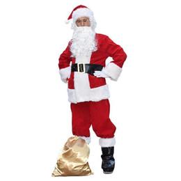 Areja personalizado on-line-Tendência WholeTide Novo Estilo Resistência Ao Frio Trajes Vermelhos Decoração Personalizada Cinto de Natal Trajes Permeáveis Ao Ar Roupas de Natal