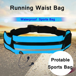 Outdoor Running Waist Bag Waterproof Mobile Phone Holder Jogging Belt Belly Bag Women Gym Fitness Bag Lady Sport Accessories