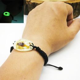 pietra blu della porcellana Sconti Accessori per bracciali Scorpione luminoso Braccialetti per uomo e donna Scacchi gialli e neri speciali Braccialetti regalo speciali a portata di mano