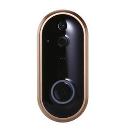 2019 wifi türklingel kamera 1 STÜCKE Neue Wireless WiFi Video Türklingel 1080 P HD Ring Türklingel Kamera 2MP Nachtsicht Zwei-Wege-Audio 2,4G Telefon Fernbedienung PIR Motion günstig wifi türklingel kamera