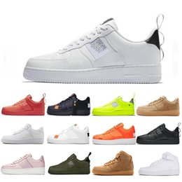 Top Fashion Utility Classic Black White Dunk Hombres Mujeres Zapatos casuales rojo one Sports Skateboarding High Low Cut Wheat Trainers Sneakers 36-45 desde fabricantes