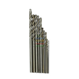 twist drill bits Coupons - drill bit set New 10pcs Jobbers Mini Micro HSS Twist Drill Bits 0.5-3mm for Wood PCB Presses Drilling Hobby Tools