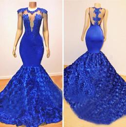 1726bb299ba black sleeveless plus size maxi dress Coupons - Royal Blue Mermaid Sexy  Prom Dresses 2019 Long