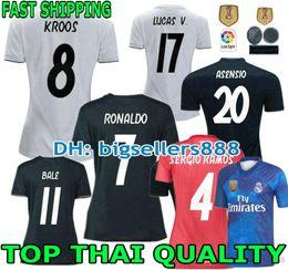 camiseta real madrid Rebajas VERSIÓN JUGADOR 18 19 camiseta de fútbol del Real  Madrid MUJER ASCENSIO 82910f140ff14