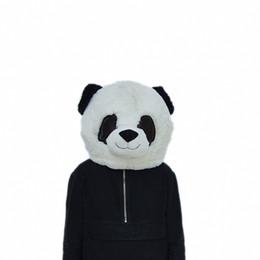 2019 conejito conejo marioneta Animal Panda Head Masks Diseño de moda Máscaras Último diseño Animal Head Mask Mascot