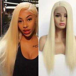 longo, reto, cabelo, lado, despedida Desconto Lado reta longa peruca de cabelo sintético Lace Wigs frente sintético de alta qualidade Lace Wigs cabelo calor sintética resistente da Mulher Negra