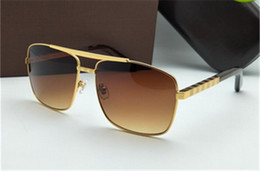 Semelle occhiali en Ligne-Lunettes de soleil à monture dorée Lunettes de soleil pour hommes imperméables Occhiali Da Sole pour hommes Femmes