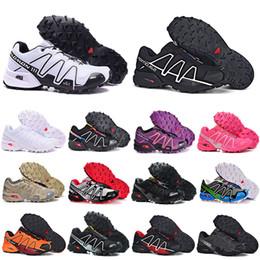 2018 Nouveau Vente Chaude occasionnel Zapatillas salomon Speedcross 4 Femmes sneaker Chaussures sneaker nouvelle Marche Vitesse cross Femmes