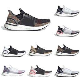 zapatillas marrones Rebajas White Cloud Black Ultra 2019 Ultra para hombre Zapatillas de running Dark Pixel Refract Clear Brown Primeknit Zapatillas deportivas Hombre Mujer Zapatillas