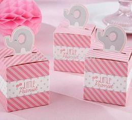 "Cajas temáticas para fiestas online-Al por mayor- ""Born To Be Wild"" Jungle-Themed Favor Box Party Favors Boxes Fashion Boxes Candy Box 12pcs"