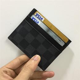 2019 borse in pelle nere porta tessere di design portafoglio uomo donna porta carte di lusso borse porta tessere in pelle nero borse portafogli piccolo portafoglio di design 8877675 borse in pelle nere economici