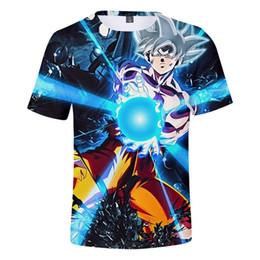 2020 niño camiseta dragón 2019 Moda de Verano Camiseta de Los Niños Dragon Ball Super Kids 3d Imprimir Camiseta de la Historieta Para Niños Niñas Niños Ropa J190611 rebajas niño camiseta dragón