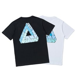 camisetas de anime Rebajas Verano nuevo para hombre camiseta británica deslizante moda camiseta Palacios lettenr priting camisetas treet hip-hop pareja camiseta moda anime hombres camisa